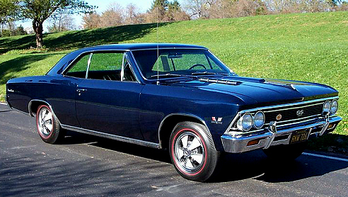 66 Chevelle SS with Special Paint  Chevelle Tech